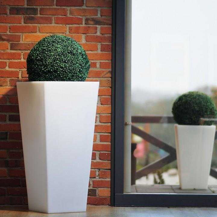 nowoczesne donice na balkon